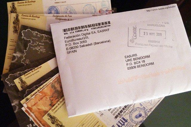 QSLs envelope