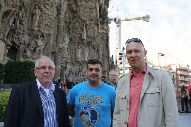 EURAO Meeting 2011, Sagrada Familia, Barcelona