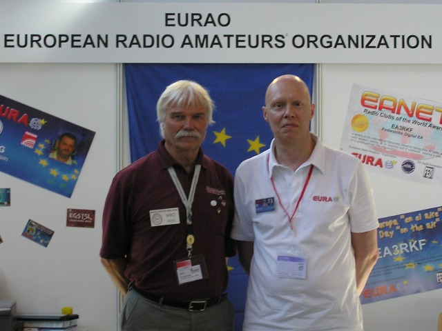 W8CI and EA3CIW at HAM RADIO 2012