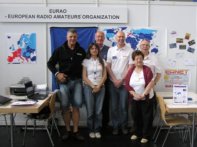 EURAO booth