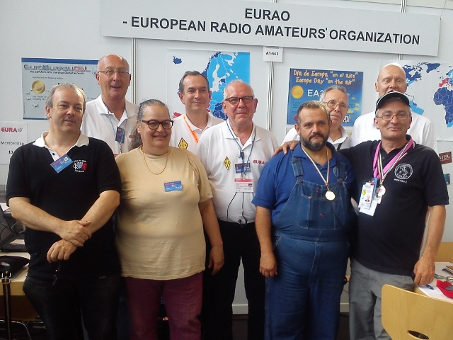 EURAO at HAM RADIO 2014